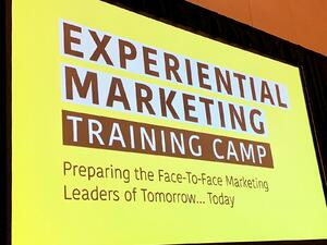 Experiential Marketing Training camp